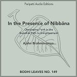 In the Presence of Nibbāna - Audiobook MP3
