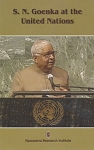 S. N. Goenka at the United Nations <br /><span>Vipassana</span>