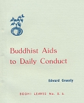 Buddhist Aids to Daily Conduct
