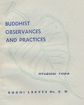 Buddhist Observances & Practices