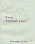 Three Buddhist Tales
