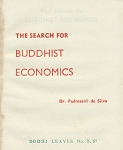 Search for Buddhist Economics, The