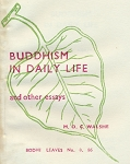 Buddhism in Daily Life  BL86