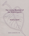 Living Message of the Dhammapada