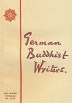 German Buddhist Writers