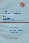 Buddhist Doctrine of Nibbana