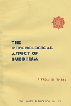 Psychological Aspect of Buddhism  WH179