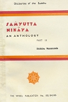 Samyutta Nikaya: An Anthology: II