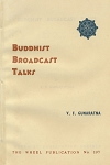 Buddhist Broadcast Talks
