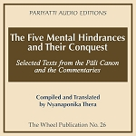 Five Mental Hindrances and Their Conquest - MP3 Audiobook