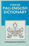 Concise Pali English Dictionary (Softcover)