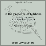 In the Presence of Nibbāna - MP3 Audiobook