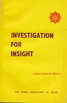 Investigation for Insight  WH301-2