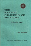 Buddhist Philosophy of Relations (WH331-3) <br /><span>Vipassana</span>