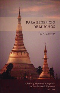 For the Benefit of Many - Spanish (Damaged)<br /><span>Vipassana</span>