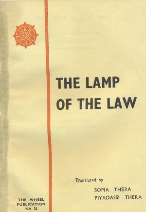 Lamp of the Law, The:  Dharmapradipika  WH38