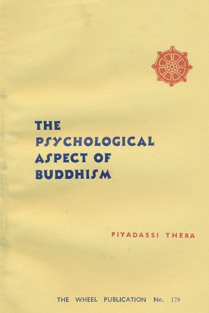 Psychological Aspect of Buddhism