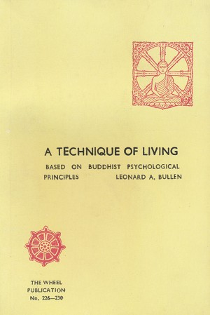 Technique of Living, A