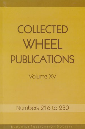 Collected Wheels BW15 Vol XV