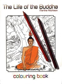 Life of the Buddha Colouring Book