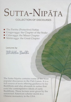 Sutta Nipata CD set