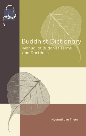 Buddhist Dictionary
