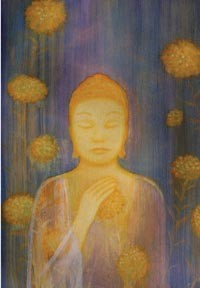 "Card - ""Flowering Buddha"""