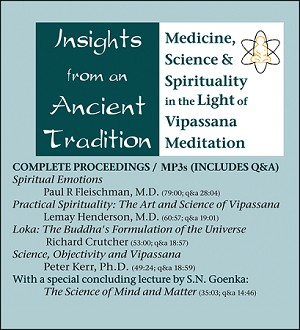 Insights from an Ancient Tradition - Audio Streaming and Download <br /><span>Vipassana</span>
